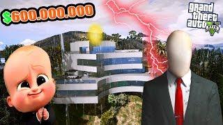 YENİ BÜYÜK SLENDERMAN'E 600 MİLYON DOLARA EV SATTIM! - GTA 5 BEBEK EMLAKÇI MODU
