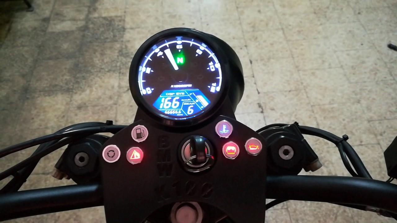 Schema Elettrico Bmw K75 : Modulo spia neutral e contamarce speedometer gear position bmw