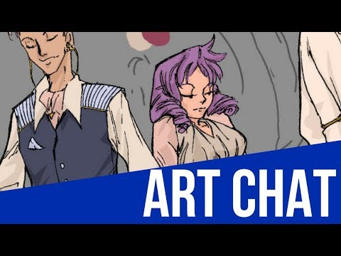 Art and Chat: Session 05: Art Zines and working on Fashion Illustration