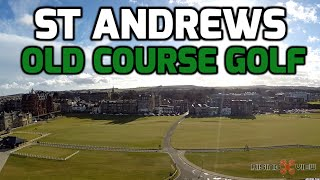 St Andrews Old Course Golf Course & Beach :- DJI Phantom 2 Drone + GoPro Hero 3
