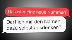 8 WhatsApp CHATS mit UNBEKANNTEN NUMMERN!
