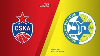 CSKA Moscow - Maccabi FOX Tel Aviv Highlights | Turkish Airlines EuroLeague RS Round 18
