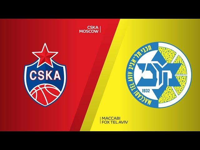 CSKA Moscow - Maccabi FOX Tel Aviv Highlights | Turkish Airlines EuroLeague RS Round 18