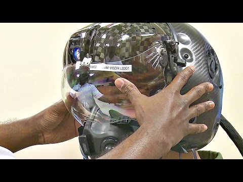 This $400,000 F-35 Helmet Can Let Pilot See Through Plane - Test Fit