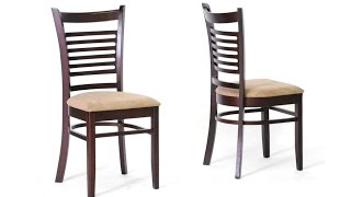 Wooden Dining Chairs - Teak Wood Dining Chair Designs