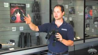 Features of the Orion Resolux 7x50 Waterproof Astronomy Binoculars