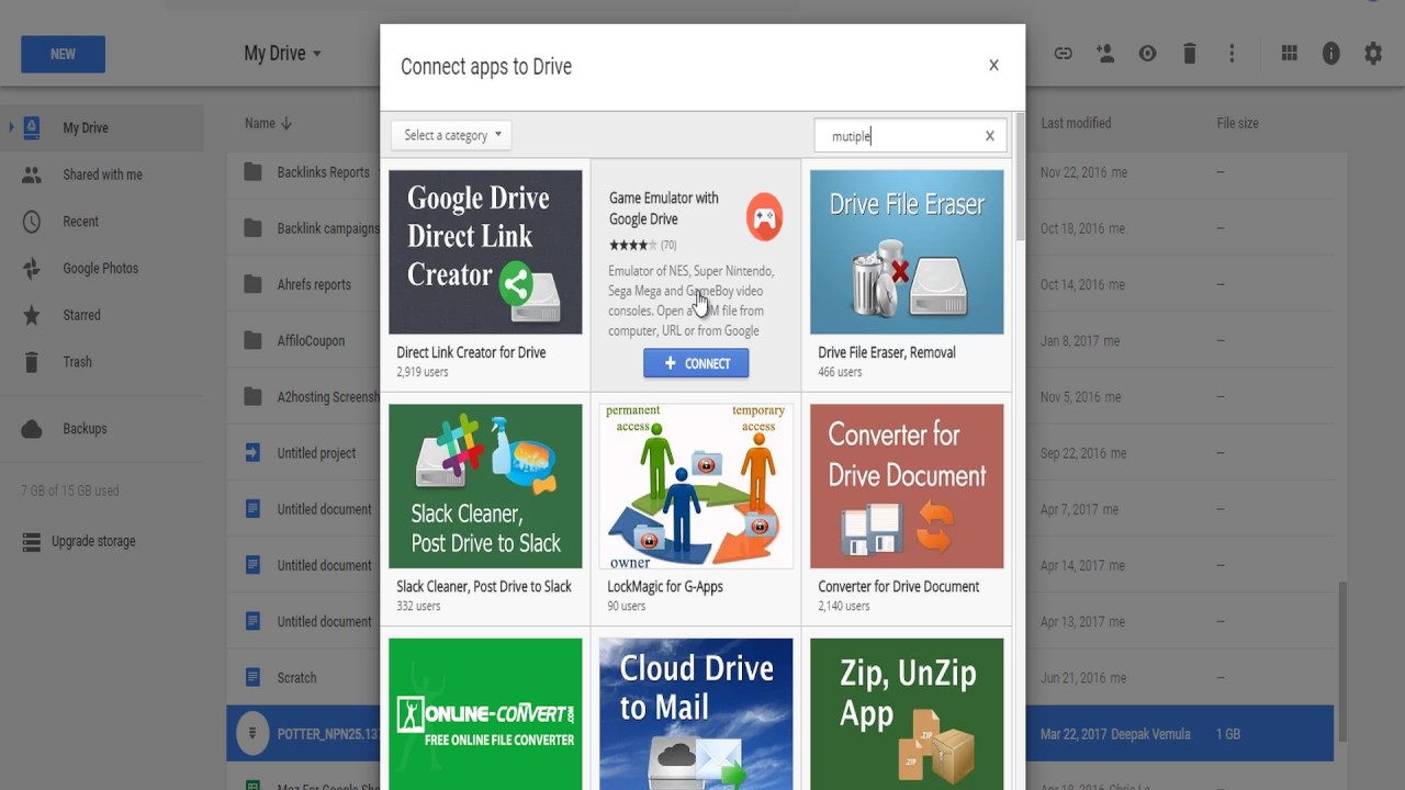 how to download pdf in google drive
