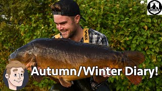 Carp Fishing Autumn Winter Diary