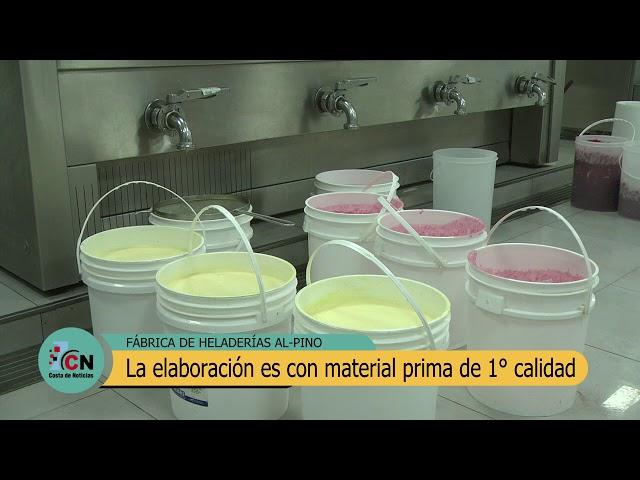 Al-Pino: Visitamos la fábrica de helado artesanal