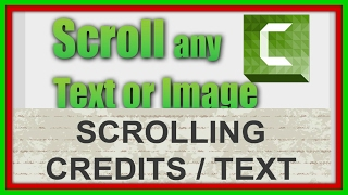 How To Add Scrolling Text or image to Video. bangla tutorial 2017