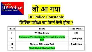 SYLLABUS UP POLICE CONSTABLE EXAM PATTERN| उत्तरप्रदेश कांस्टेबल परीक्षा सिलेबस- TARGET STUDY IQ