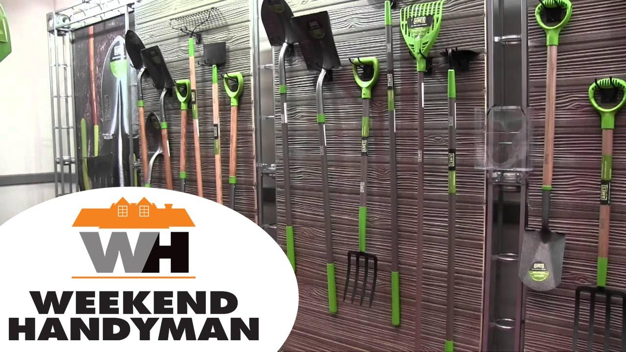 ames garden tools. AMES Landscaping And Gardening Hand Tools | Weekend Handyman #AmesTools Ames Garden H