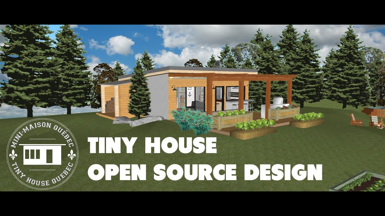 Mini maison qu bec tiny house qu bec design open for All design maison