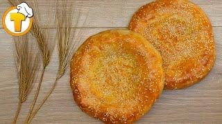 Узбекские лепешки в духовке. Как из тандыра! (Пошаговый рецепт).