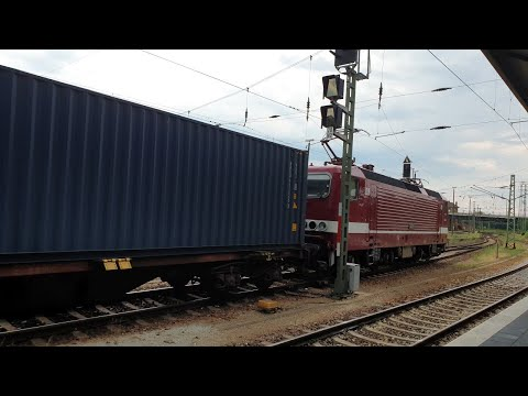 """train-service-in-cottbus:-with-a-class-243-""""emma""""-and-a-270-in-sandwich"""