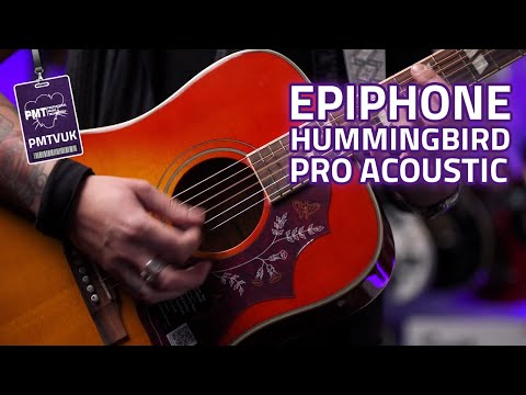 Epiphone Hummingbird Pro Electro Acoustic Review - The Best Epiphone Acoustic?