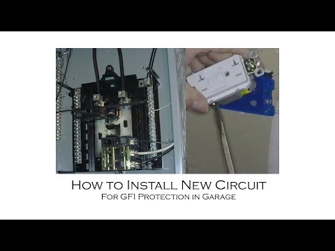 How to Install an Outlet and Tie-In to Sub-Panel or Main Panel from Start to Finish for under $100