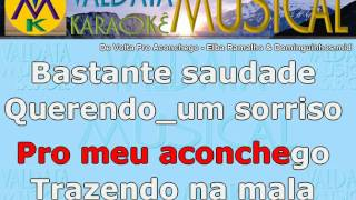 De Volta Pro Aconchego Elba Ramalho & Dominguinhos Karaoke