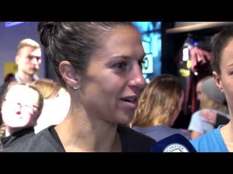 FAWSL1 - Behind-The-Scenes Fan Autograph Signing: Carli Lloyd & Man City Women Teammates - 3-21-17