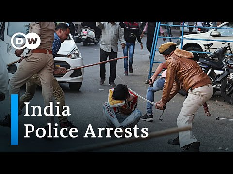 India police arrest hundreds over CAB protests | DW News