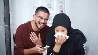 اول تحدي مع حسام، تحدي النكت || Try not to Laugh challenge