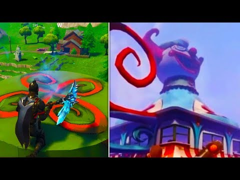 Tomato Town REPLACED by *NEW* CLOWN HEAD! (Rift Appears) - Fortnite Battle Royale Season 5 Storyline