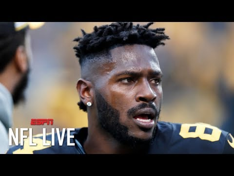 Antonio Brown making it abundantly clear he wants out of Pittsburgh – Adam Schefter | NFL Live
