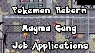 Pokemon Reborn Magma Gang Job Applications