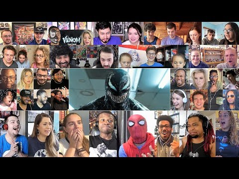 VENOM - Official Trailer 2 REACTION MASHUP