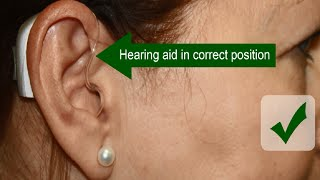 2. How to insert your hearing aids