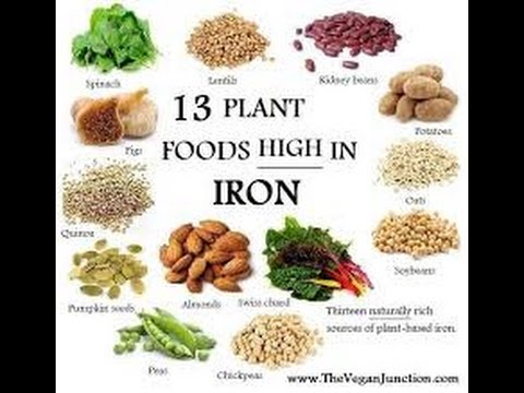 High Rich Iron Foods For Vegetarian