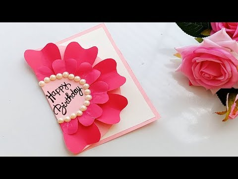 How to make handmade Birthday card\DIY Birthday Card.