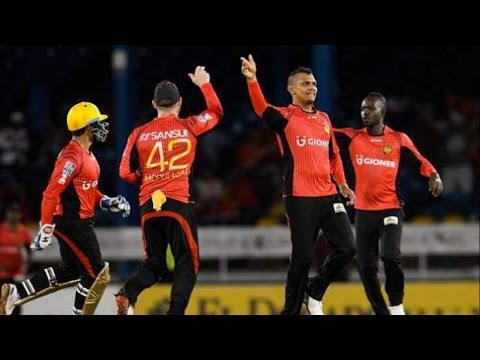 Caribbean Premier League 2016 | Trinbago Knight Riders Beat Barbados Tridents