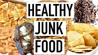 HEALTHY JUNK FOOD! Easy Healthy Snacks! Cooking With Liv Ep.10