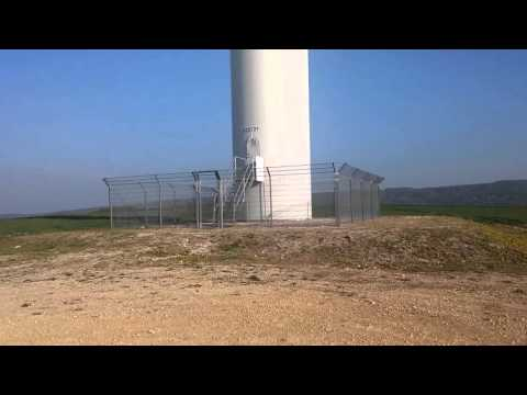 Vestas windpower in Hungary (HD)