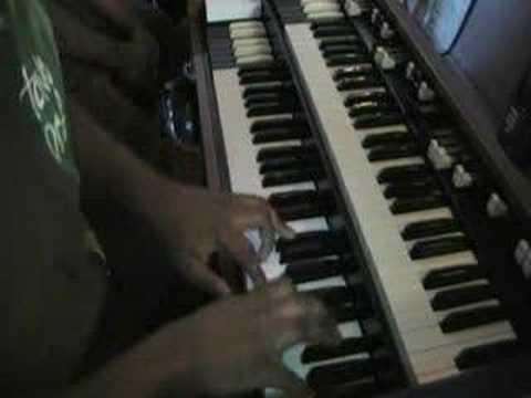 Branden Williams the MD of Tone Def playin organ Pt. 1