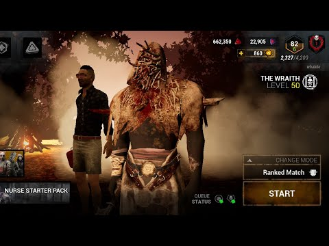Wraith Gameplay - DBD Mobile