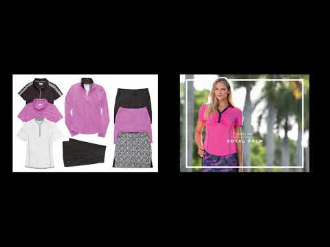 Greg Norman Ladies Golf Apparel Spring 2018
