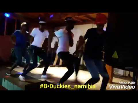 Black Duckies Performance in (Lüderitz)