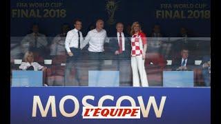 La finale France-Croatie des politiques - Foot - CM 2018
