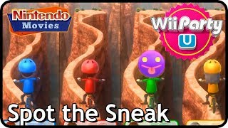Wii Party U - Spot the Sneak (2 Players, Master Difficulty)