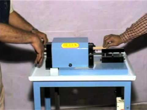wood rounding machine
