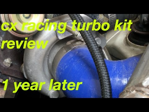 cx racing turbo kit review - YouTube
