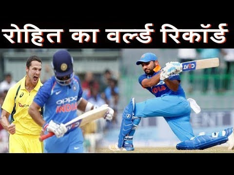 against Australia Rohit Sharma's 57th one-day international Player Make another historian Record