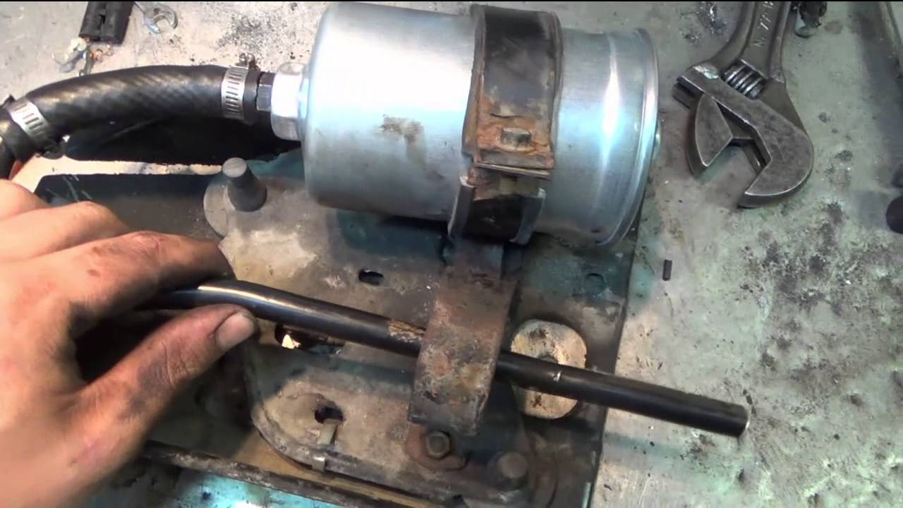 volvo 240 wagon line pump removal youtube 740 fuel filter [ 1280 x 720 Pixel ]