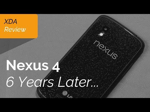 Nexus 4 Review 6 Years Later