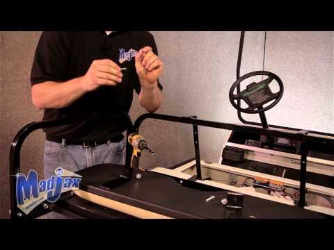 Madjax Yamaha Drive Golf Cart Trailer Hitch Kit