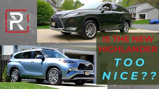 Does The New 2020 Toyota Highlander Make The Current Lexus RX Obsolete?