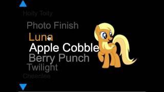 My Little Pony Hero - Мой Маленький Пони Все Персонажи