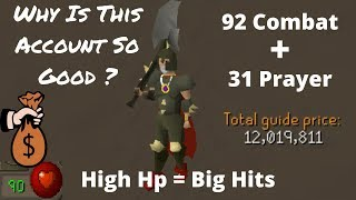This Account Is Such a Bait - 92 Combat Dharoks
